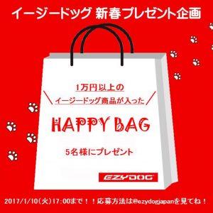 インスタグラム限定!!Happy Bagプレゼント企画開催します!!