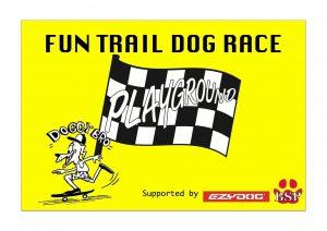 FUN TRAIL DOG RACEに協賛させていただきます!3/31(土)